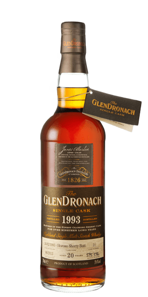 Glendronach 1993 Oloroso Sherry Butt 20YO