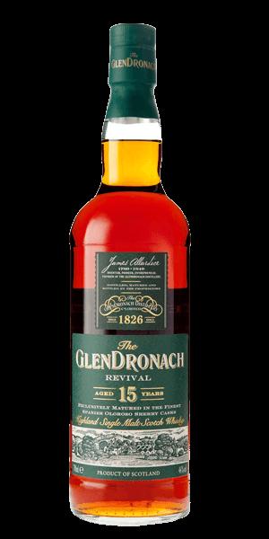 Glendronach 15 Year Old Revival Single Malt Whisky At Flaviar