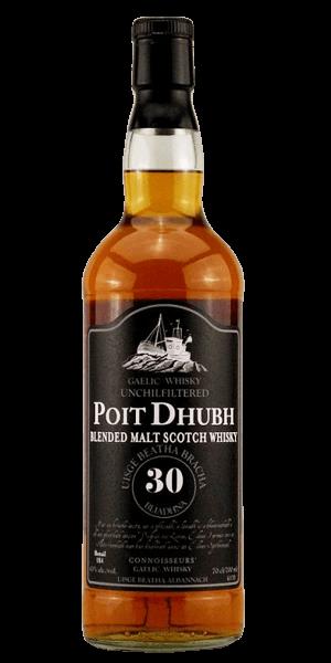 Poit Dhubh 30YO Malt Whisky