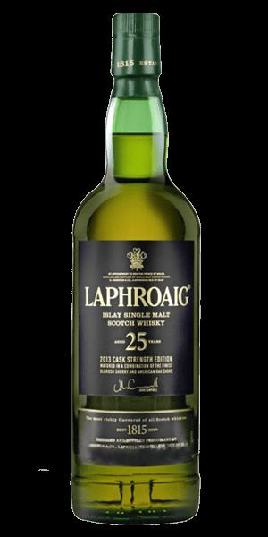Laphroaig 25 Year Old Cask Strength 2014