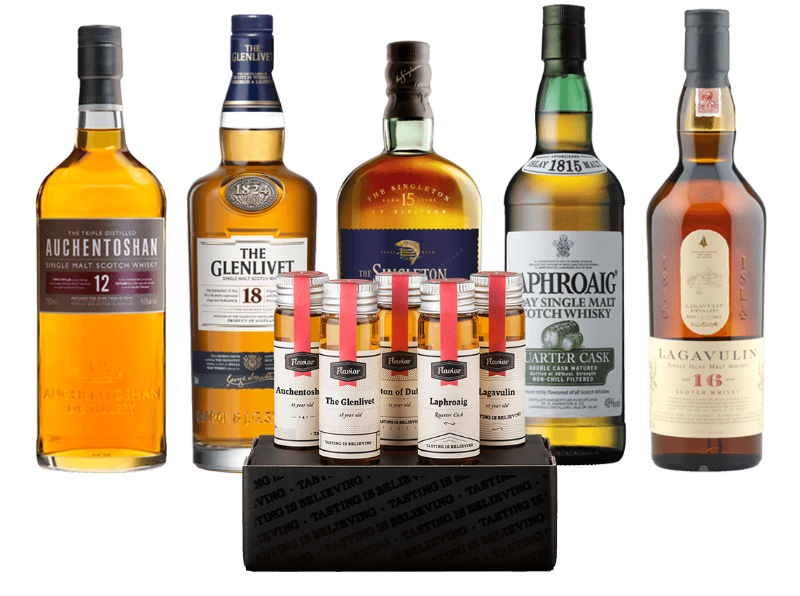 FIVE FLAVOURS OF SCOTCH