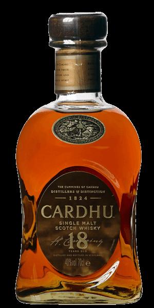 Cardhu 18 Years Old