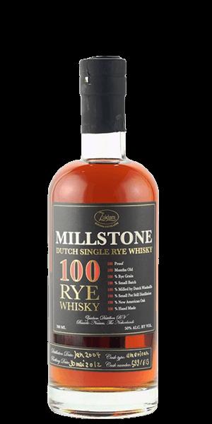 Zuidam Millstone 100 Rye Whisky