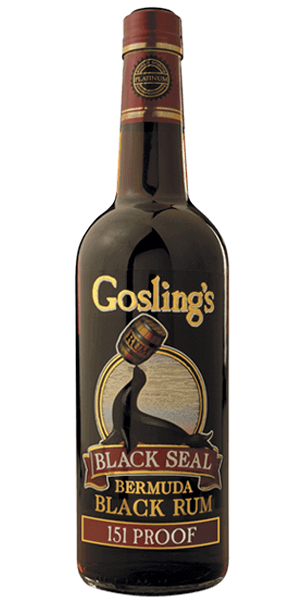 Gosling's Black Seal 151 Proof
