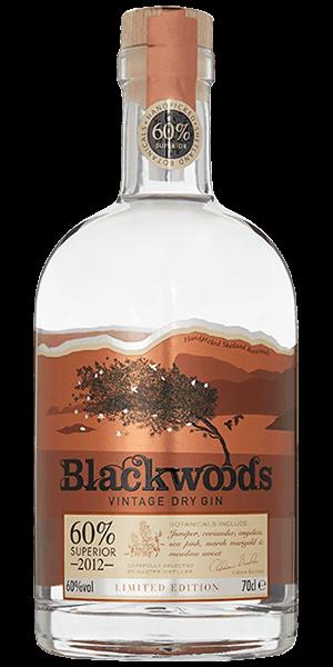 Blackwood's Vintage Dry Gin 60 ABV