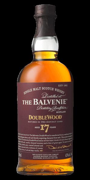 The Balvenie Scotch Single Malt 17 Year Doublewood