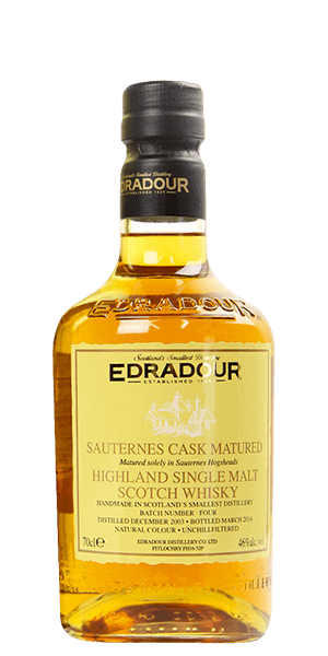 Edradour Sauternes Cask Matured 2003 Batch 4