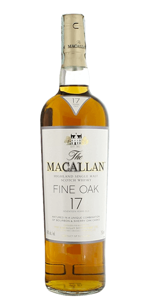 Macallan Fine Oak Scotch Single Malt 17 Year Old
