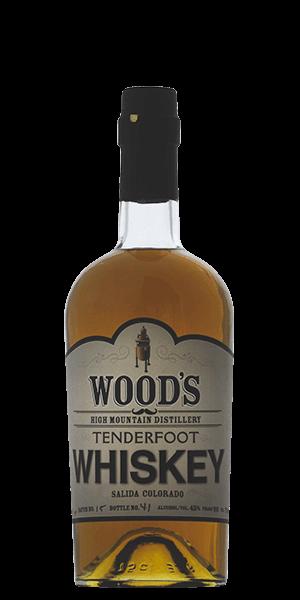 Wood's Tenderfoot American Malt Whiskey