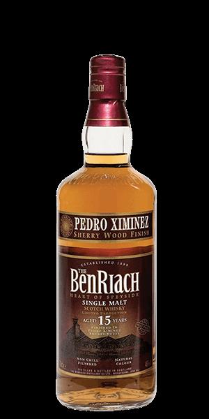 BenRiach 15 Year Old Pedro Ximenez Sherry Finish