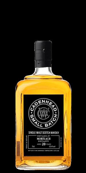 Cadenhead's Mortlach 20 Scotch Whisky