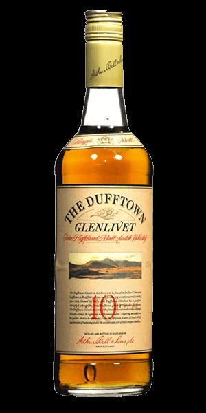 The Dufftown Glenlivet 10 Year Old