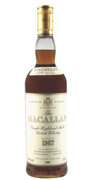 The Macallan 18 Year Old 1967
