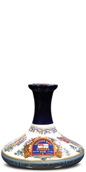 Pusser's Rum British Navy Decanter