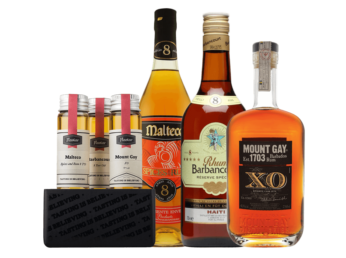 Caribbean Rum: Spirits Flights