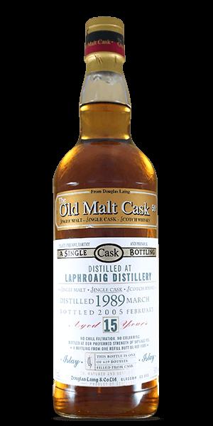 The Old Malt Cask Laphroaig 15 Year Old 1989