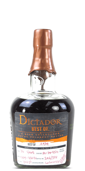 Dictador 36 Year Old Best of 1979 Limited Release