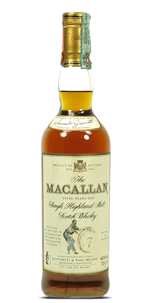 The Macallan 7 Year Old Armando Giovinetti Special Selection